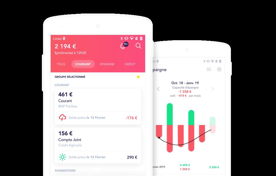 linxo application mobile pour gérer son budget